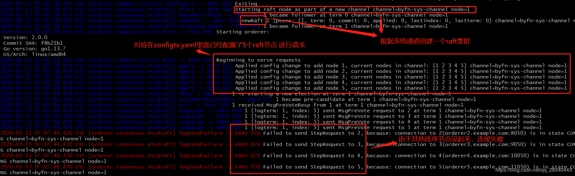Fabric2.0启动网络脚本配置剖析