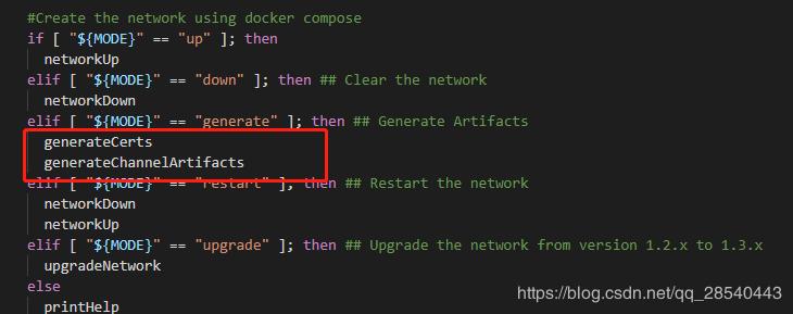 Fabric2.0 样例 first-network 生成配置说明