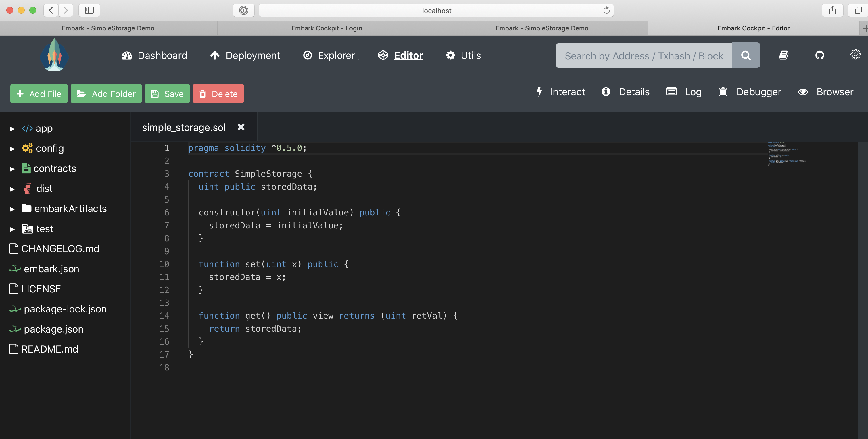 Embark初探:一款强大的DApp开发框架