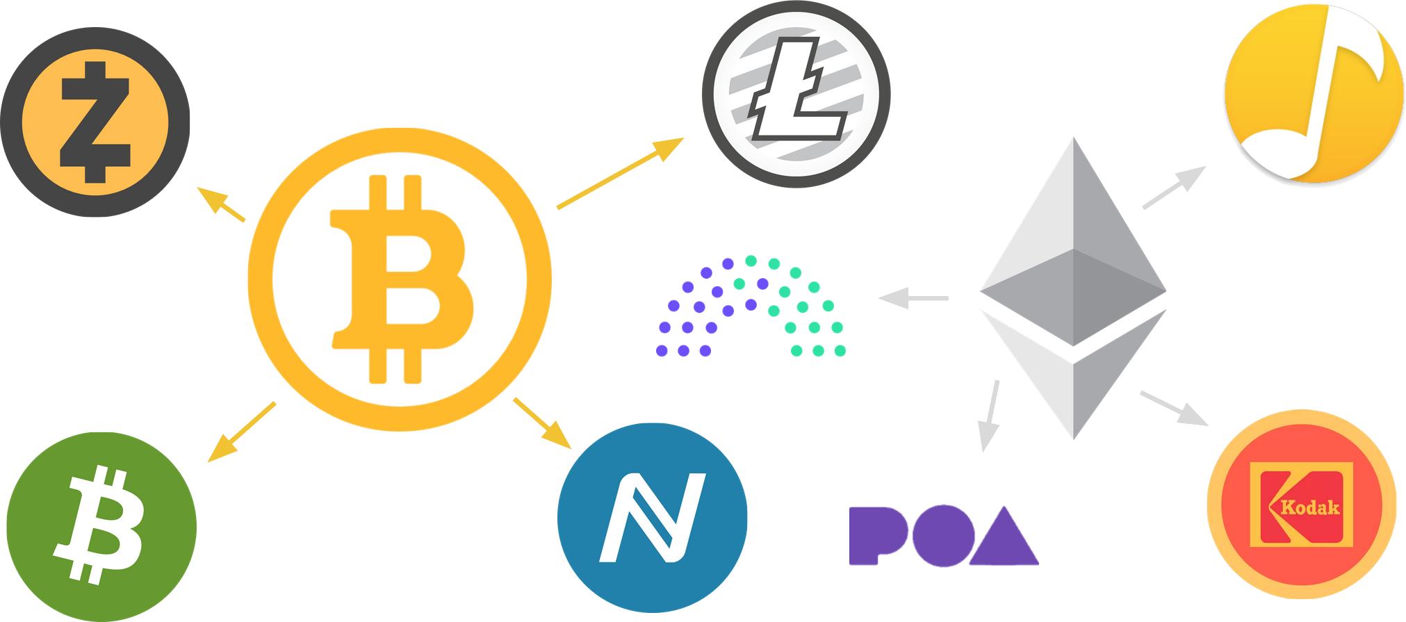 区块链项目分叉