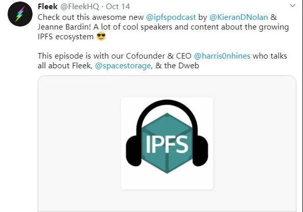 【IPFS周报110】使用IPFS构建最酷的东西