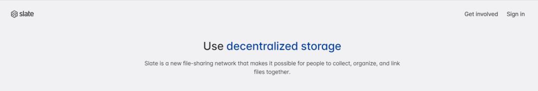 Slingshot告诉你,如何在Filecoin上存储数据