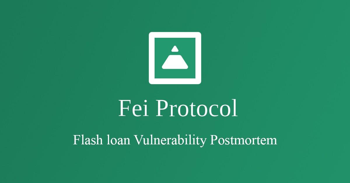 Hack Replay - Fei Protocol