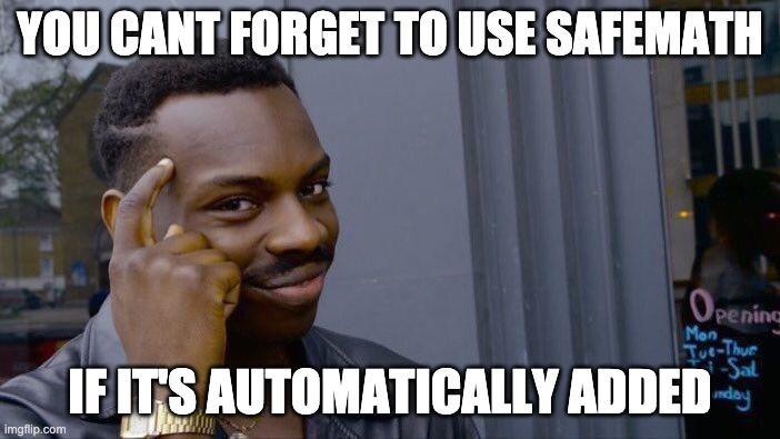 SafeMath Meme