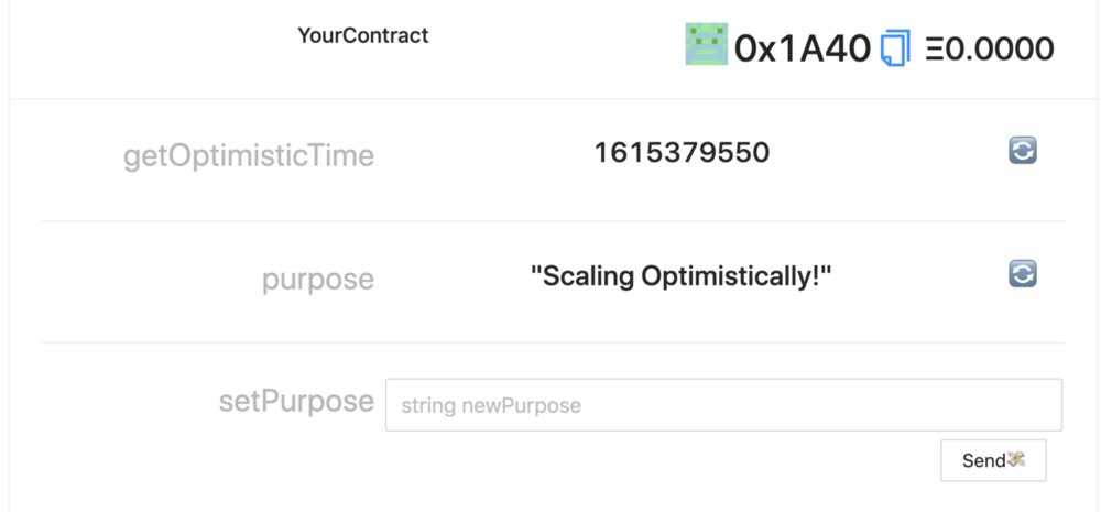 为 Optimism Rollup上开发 Dapp 准备的脚手架