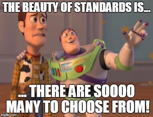 Standards Meme